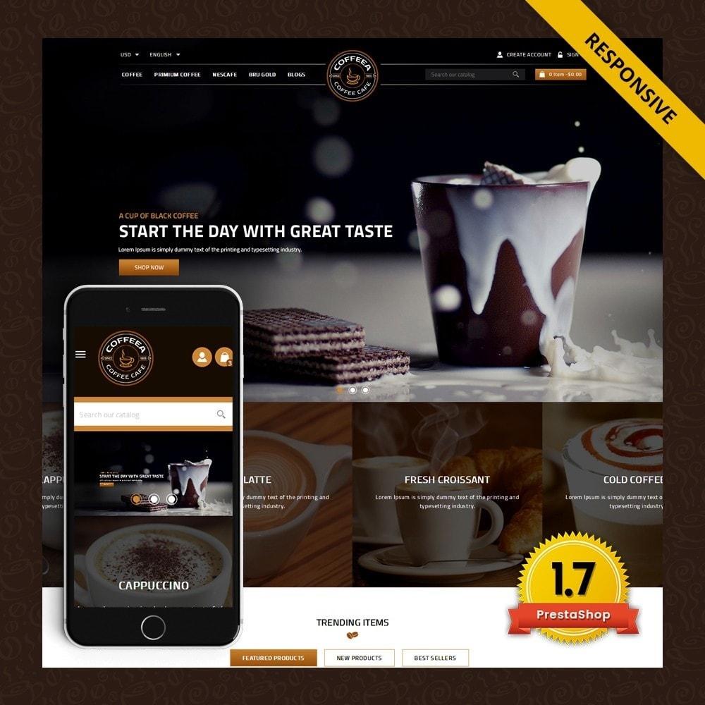 theme - Żywność & Restauracje - Coffeea - Coffee shop - 1