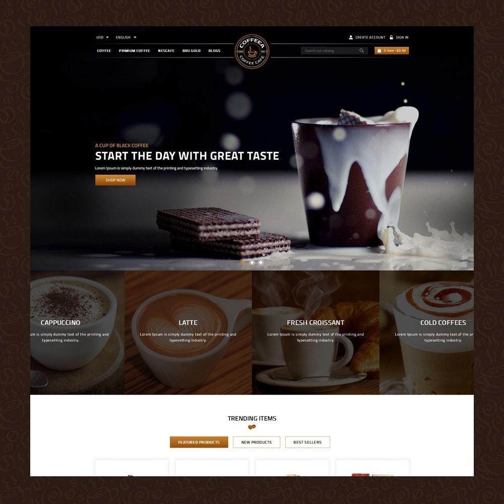 theme - Eten & Restaurant - Coffeea - Coffee shop - 2
