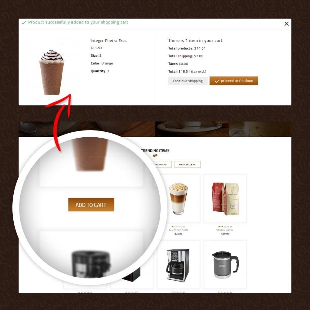 theme - Żywność & Restauracje - Coffeea - Coffee shop - 5