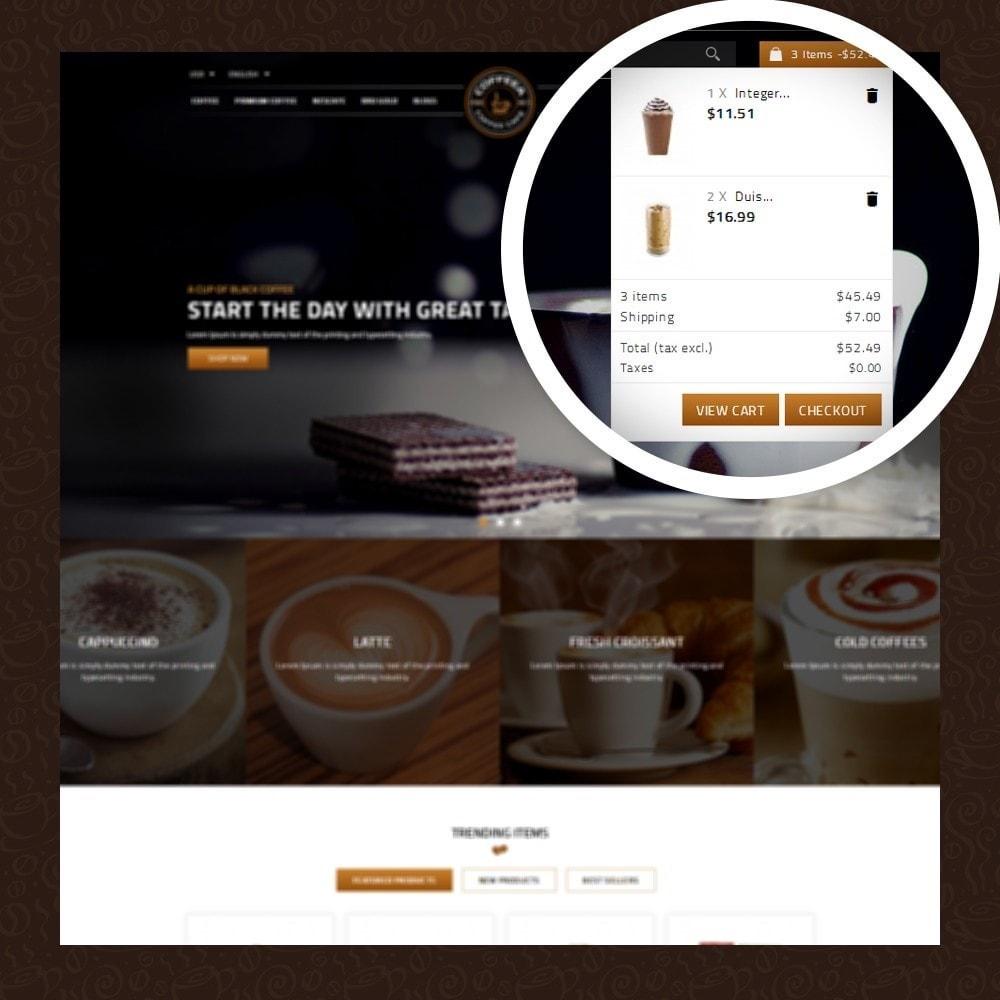theme - Żywność & Restauracje - Coffeea - Coffee shop - 6