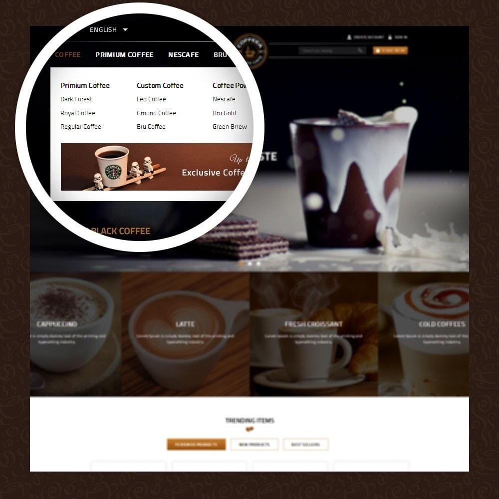 theme - Lebensmittel & Restaurants - Coffeea - Coffee shop - 7