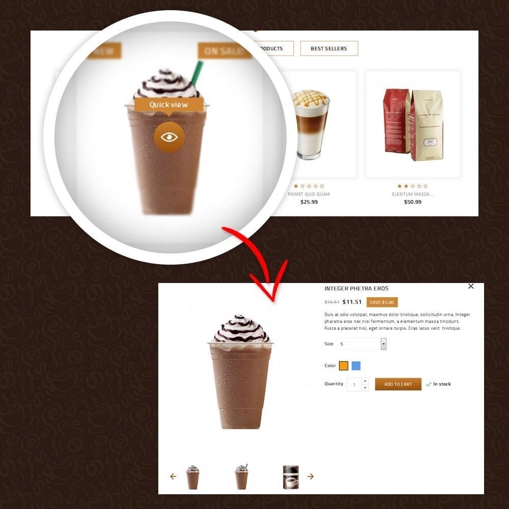 theme - Żywność & Restauracje - Coffeea - Coffee shop - 8