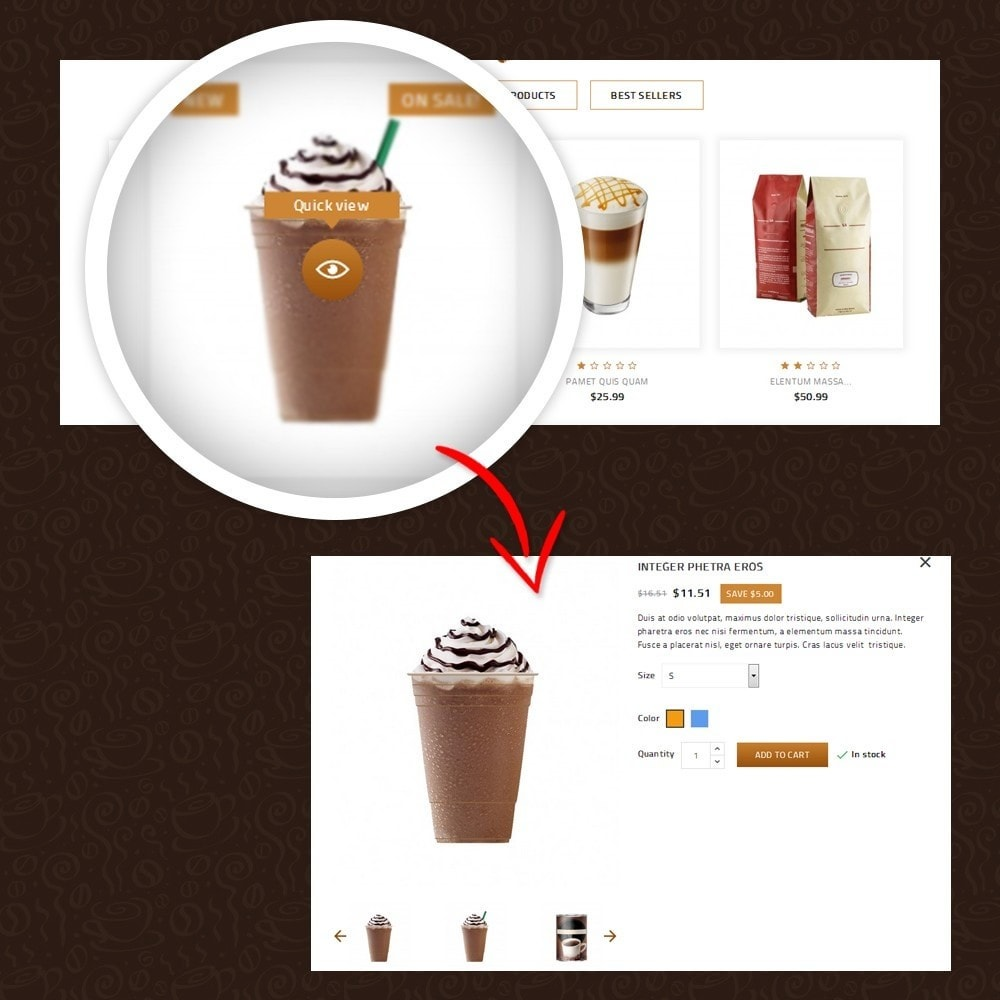 theme - Lebensmittel & Restaurants - Coffeea - Coffee shop - 8