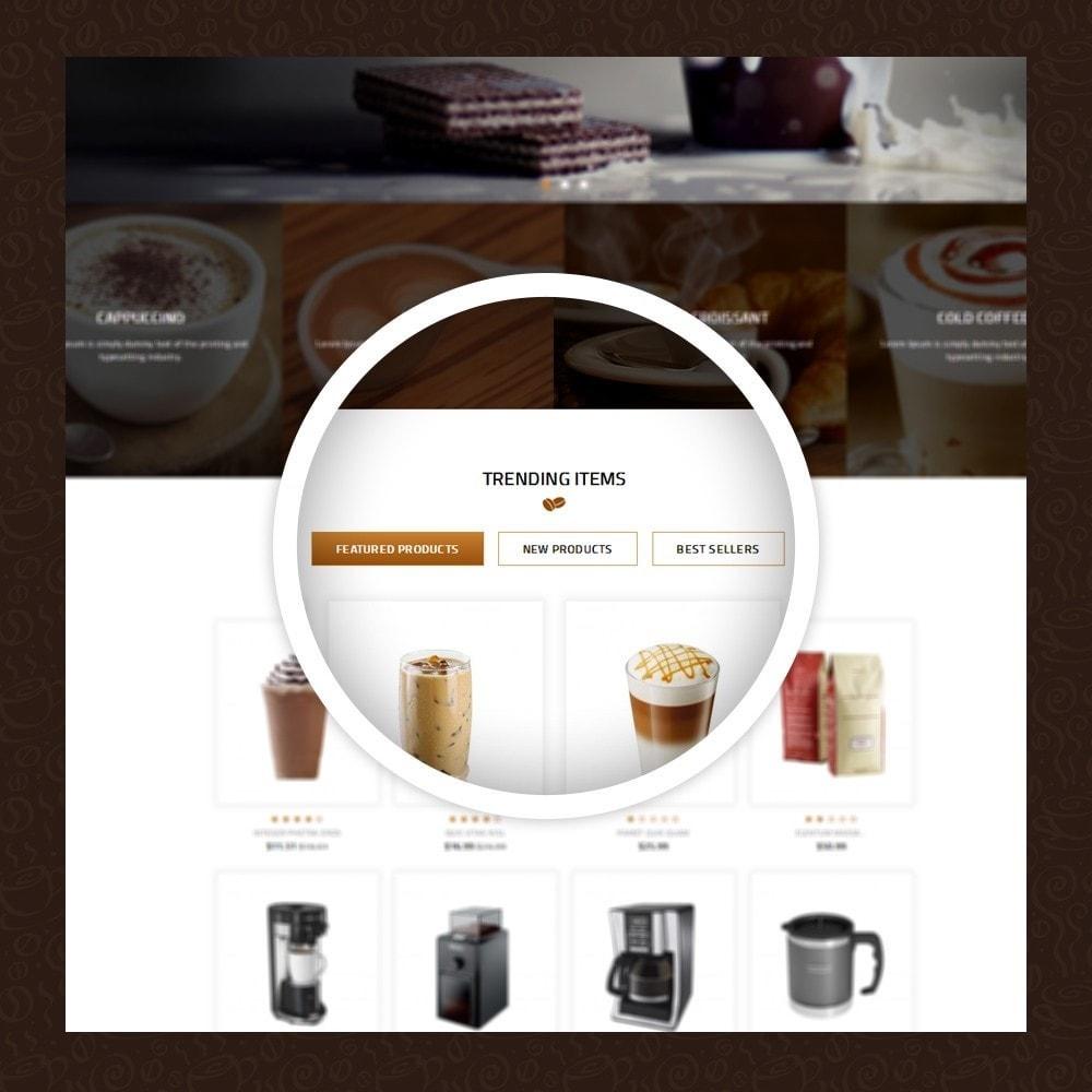 theme - Alimentation & Restauration - Coffeea - Coffee shop - 9