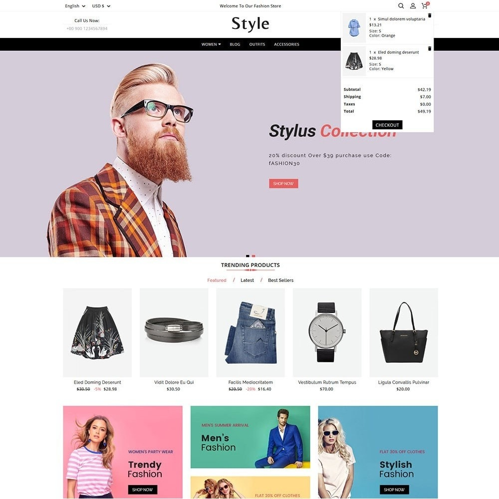 theme - Moda & Calzature - Style Fashion - 3