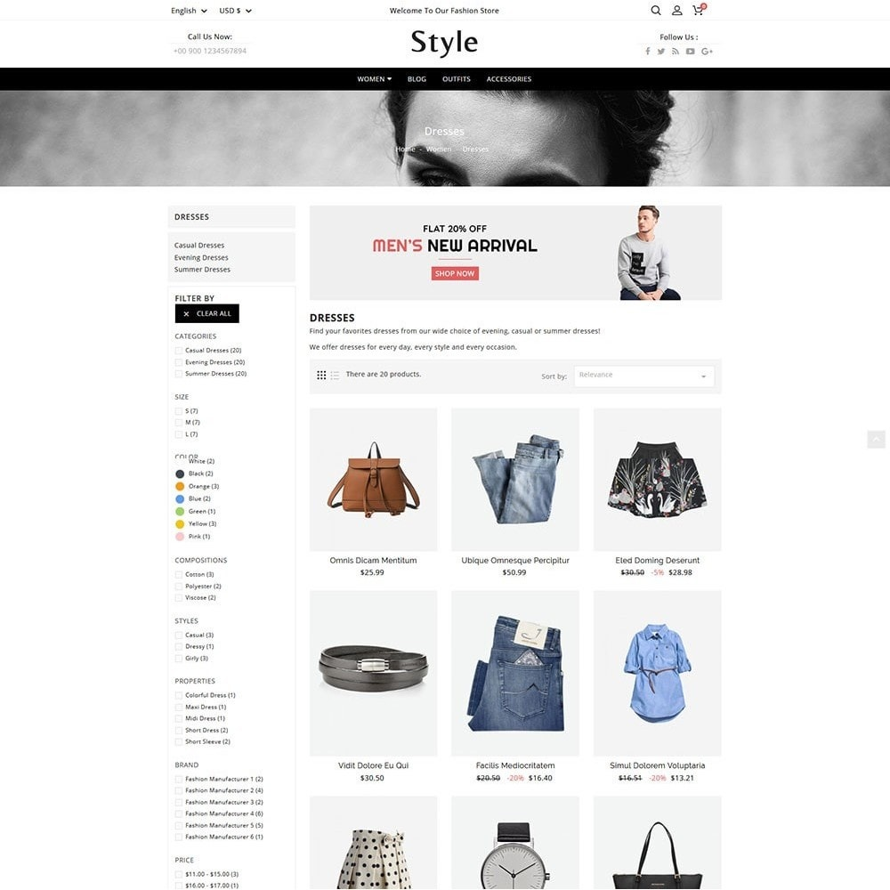 theme - Moda & Calzature - Style Fashion - 5