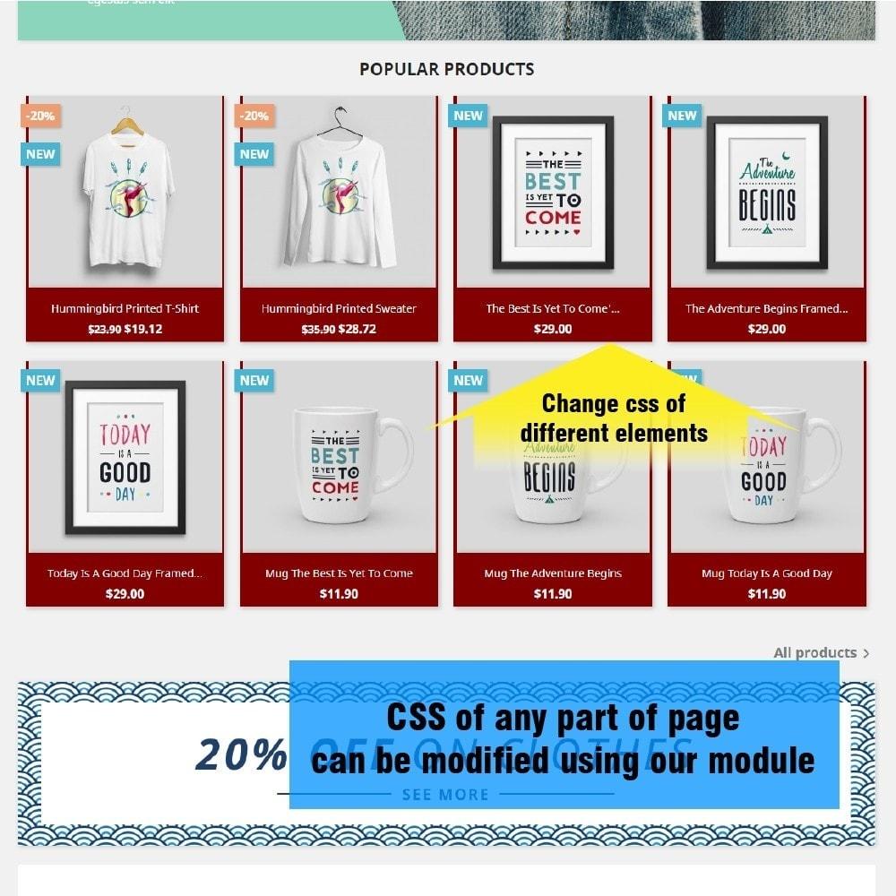 module - Personalizzazione pagine - Yucca Custom CSS/JS - 2