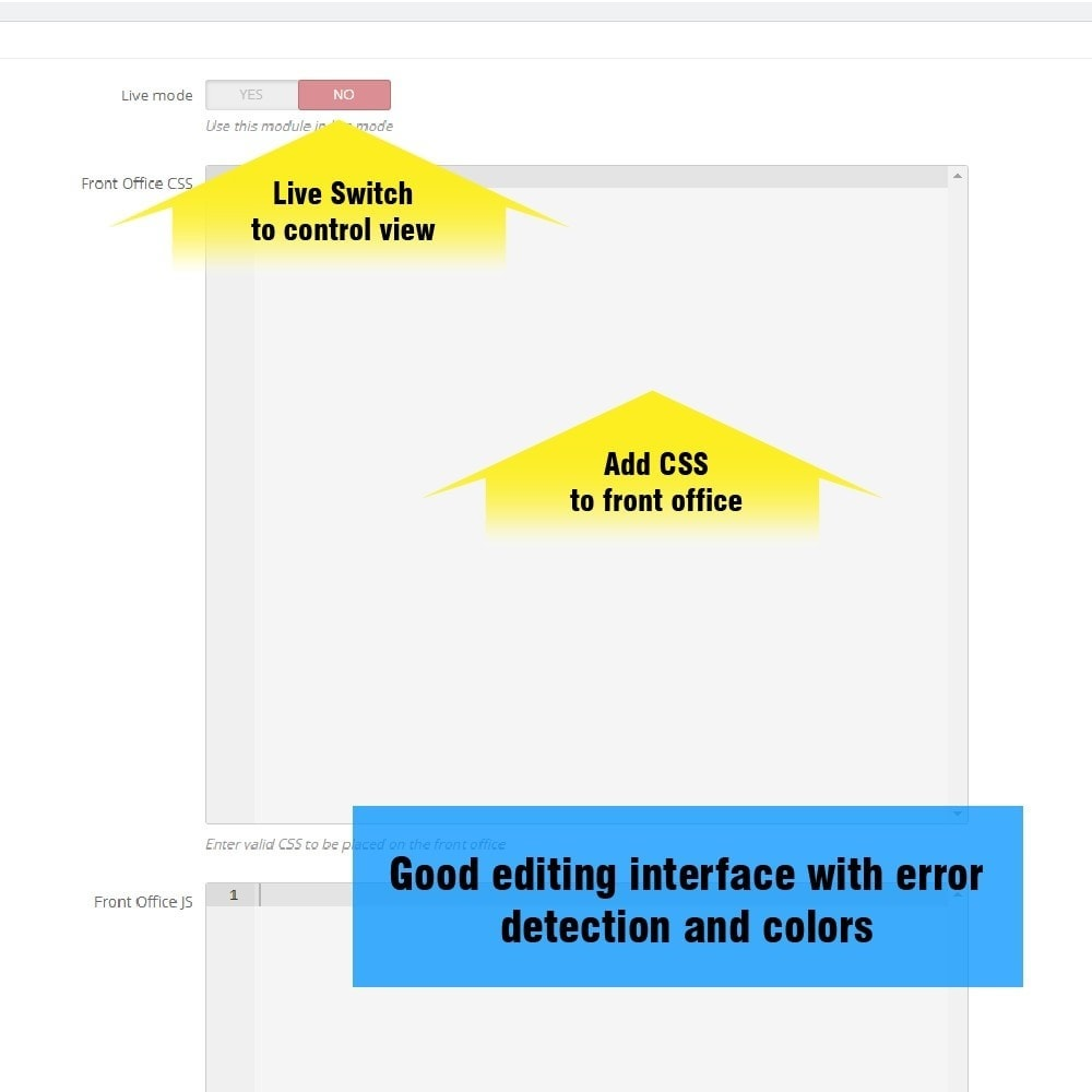 module - Personalizacja strony - Yucca Custom CSS/JS - 4