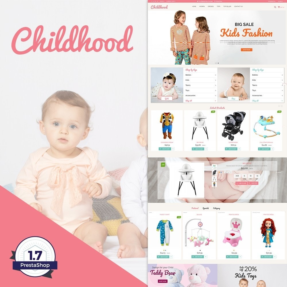 theme - Kinderen & Speelgoed - Childhood Kids Toys Store - 1