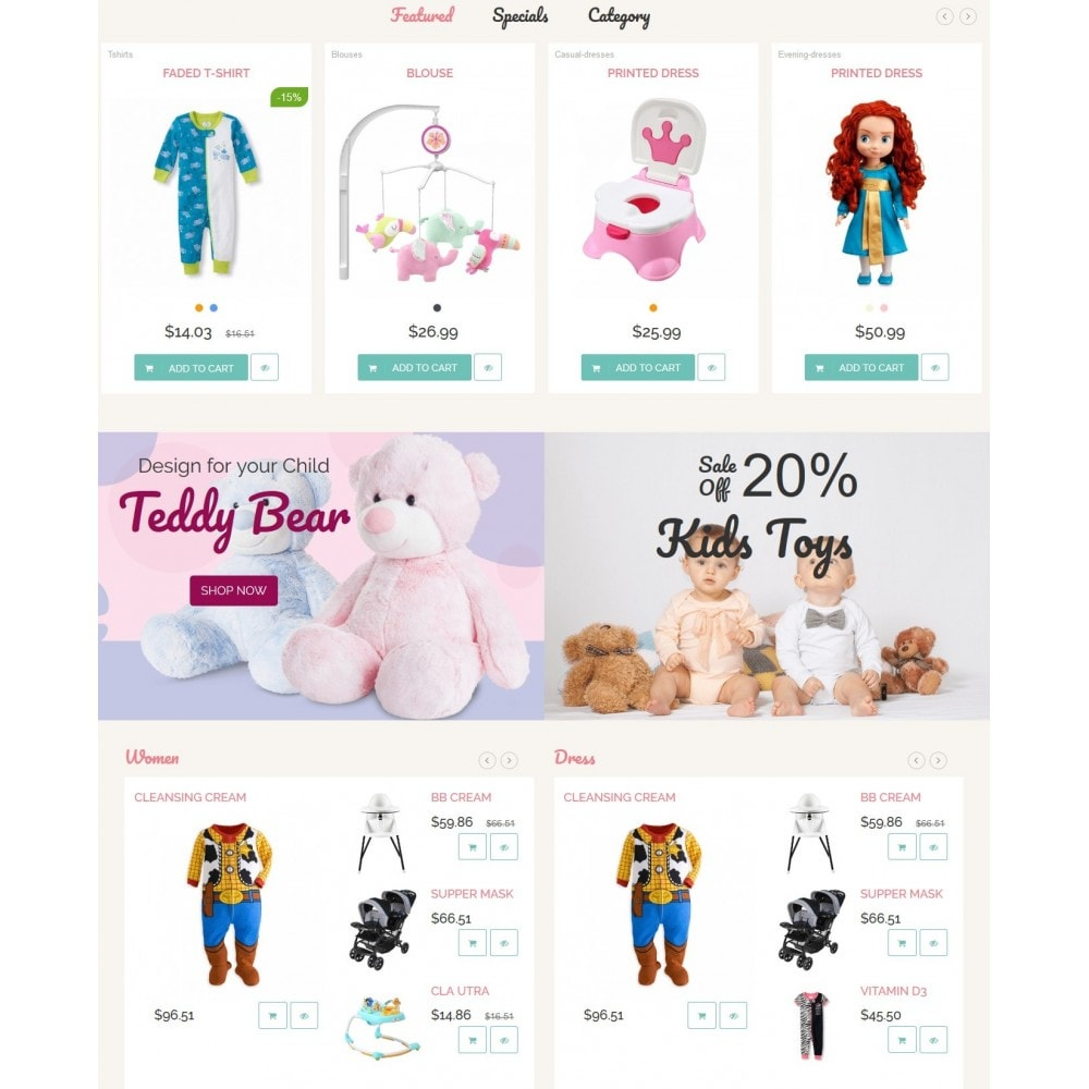 theme - Kinderen & Speelgoed - Childhood Kids Toys Store - 5
