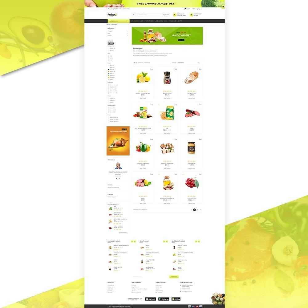 theme - Eten & Restaurant - Fulgro – Food and Grocery Super Store v3 - 3