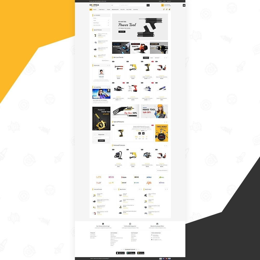 theme - Automotive & Cars - Shoppica – Tools Super Store v3 - 2