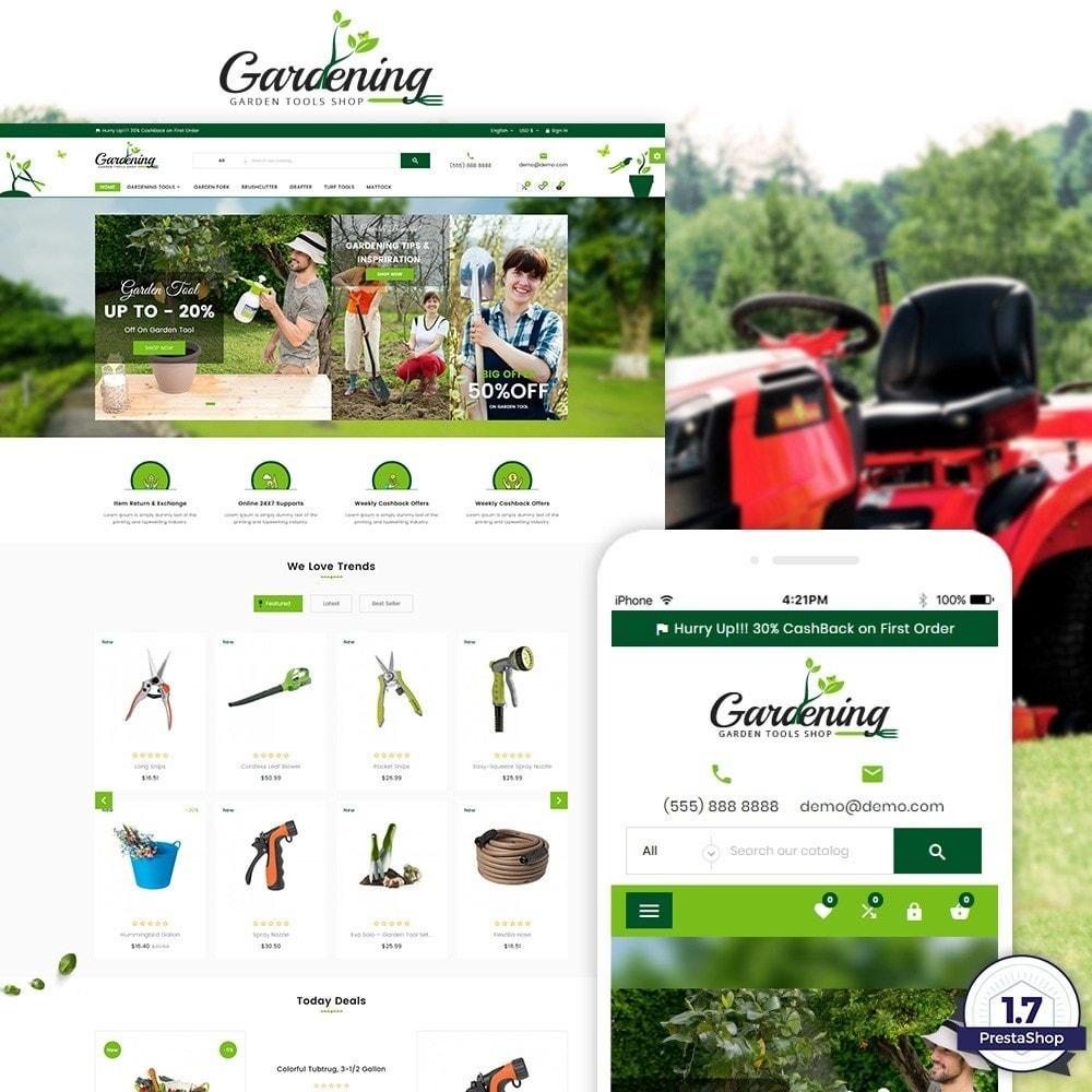 theme - Дом и сад - Garding  – Garden Tool Store - 1