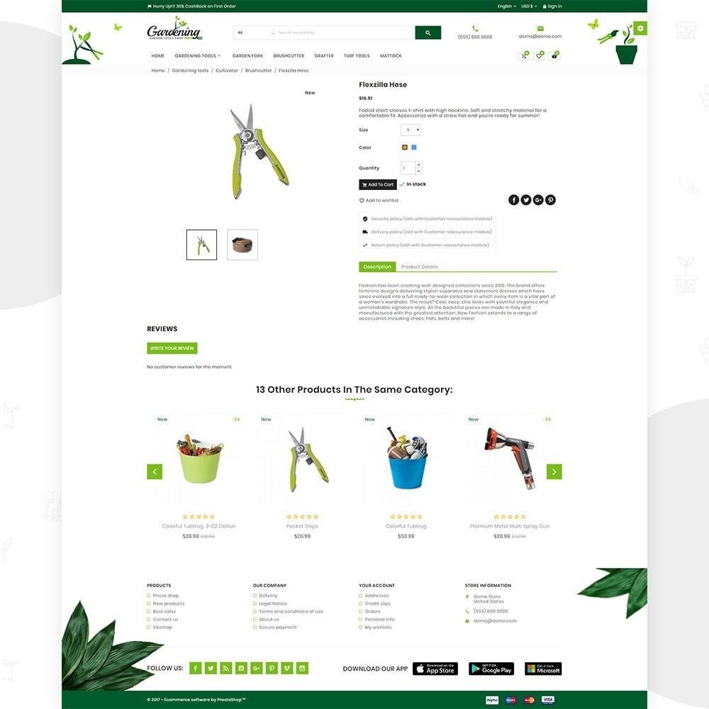 theme - Hogar y Jardín - Garding  – Garden Tool Store - 4