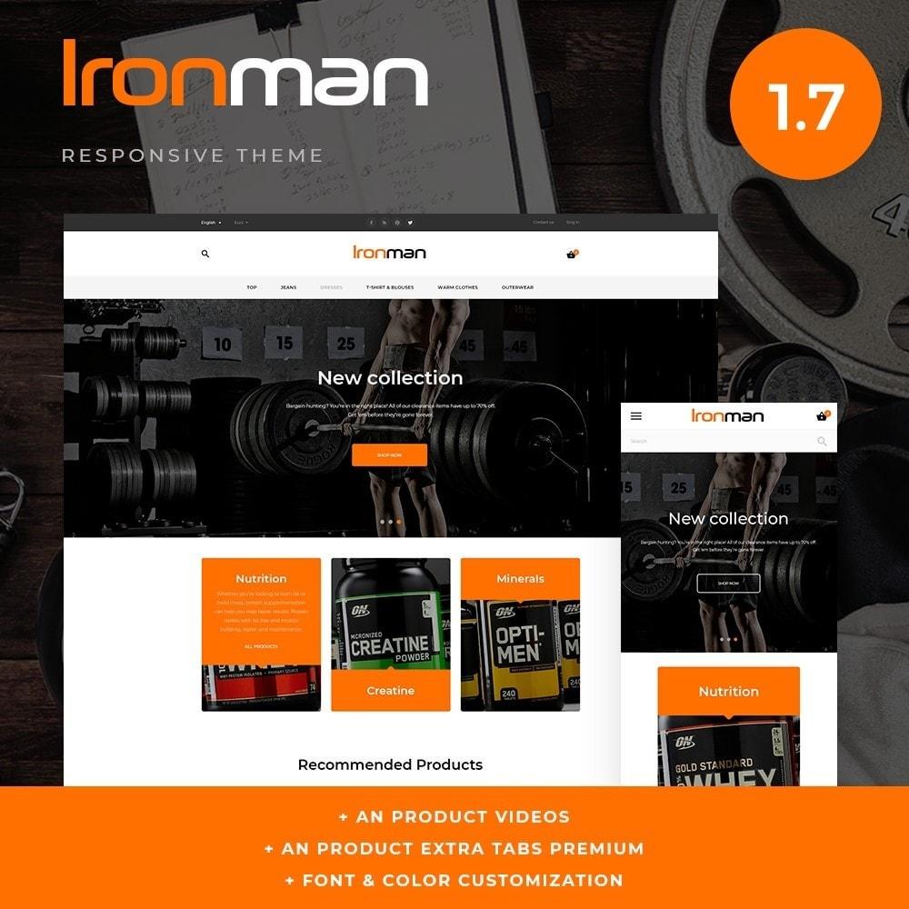 theme - Sport, Aktivitäten & Reise - Ironman - 1