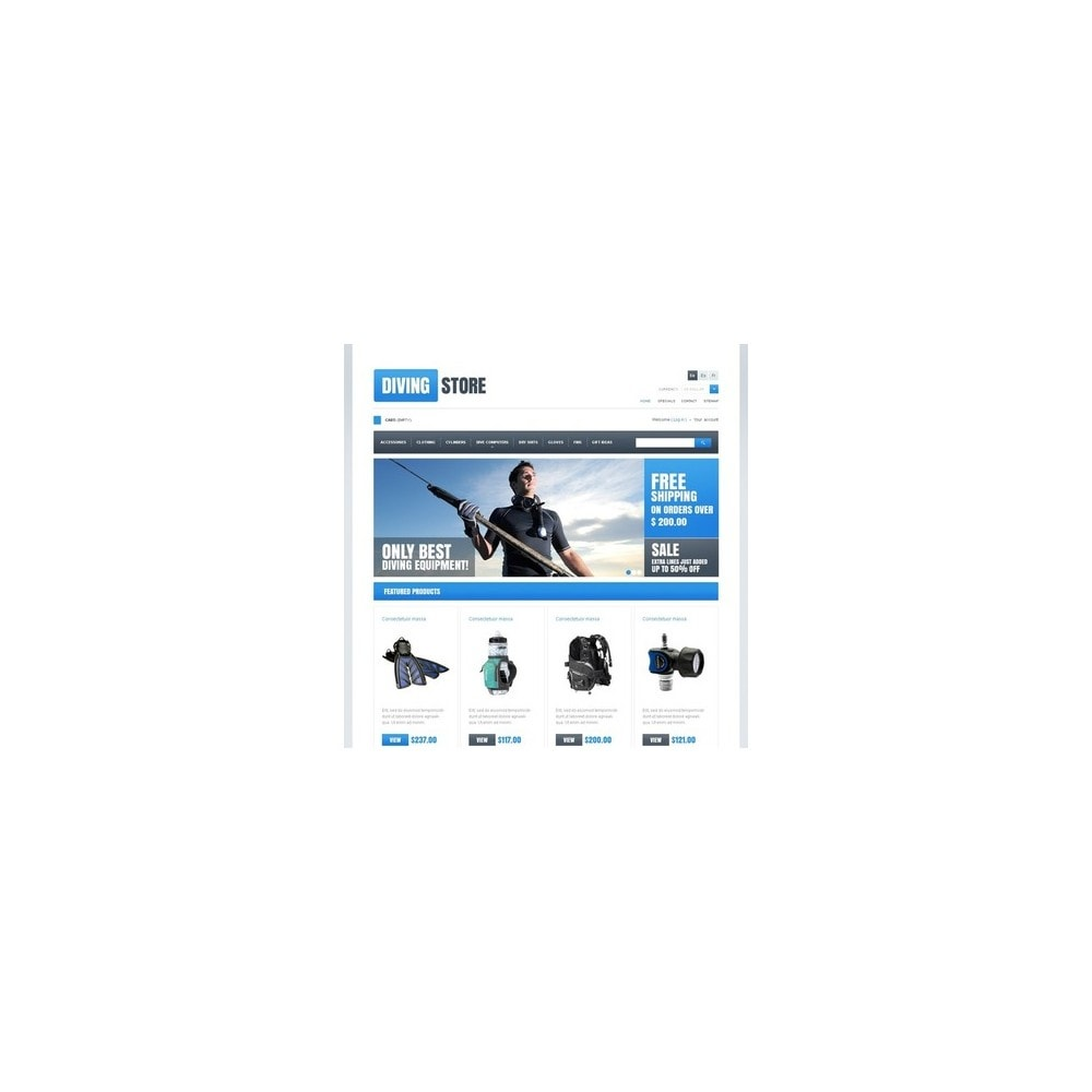 theme - Sport, Loisirs & Voyage - Diving Store - 4