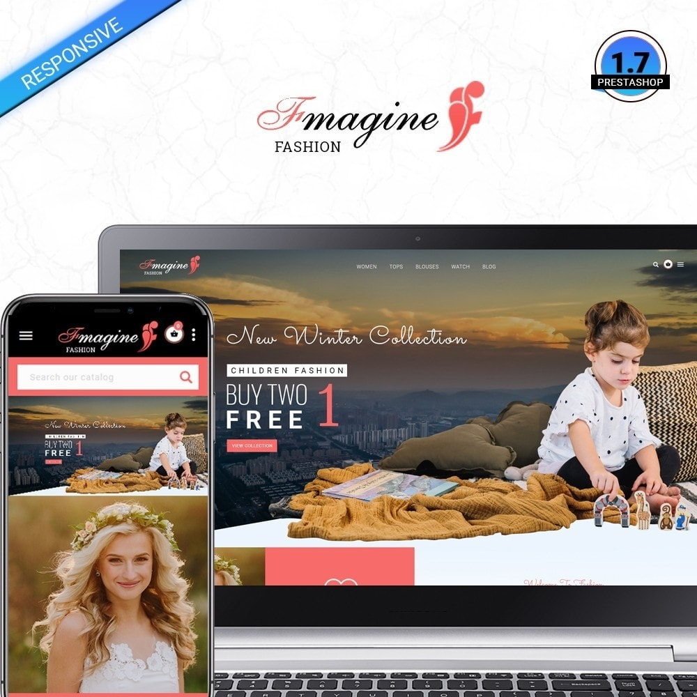 theme - Fashion & Shoes - Fmagine - Fashion Store - 1