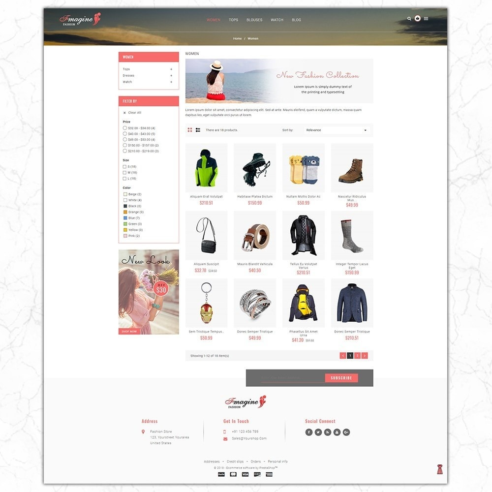 theme - Fashion & Shoes - Fmagine - Fashion Store - 3