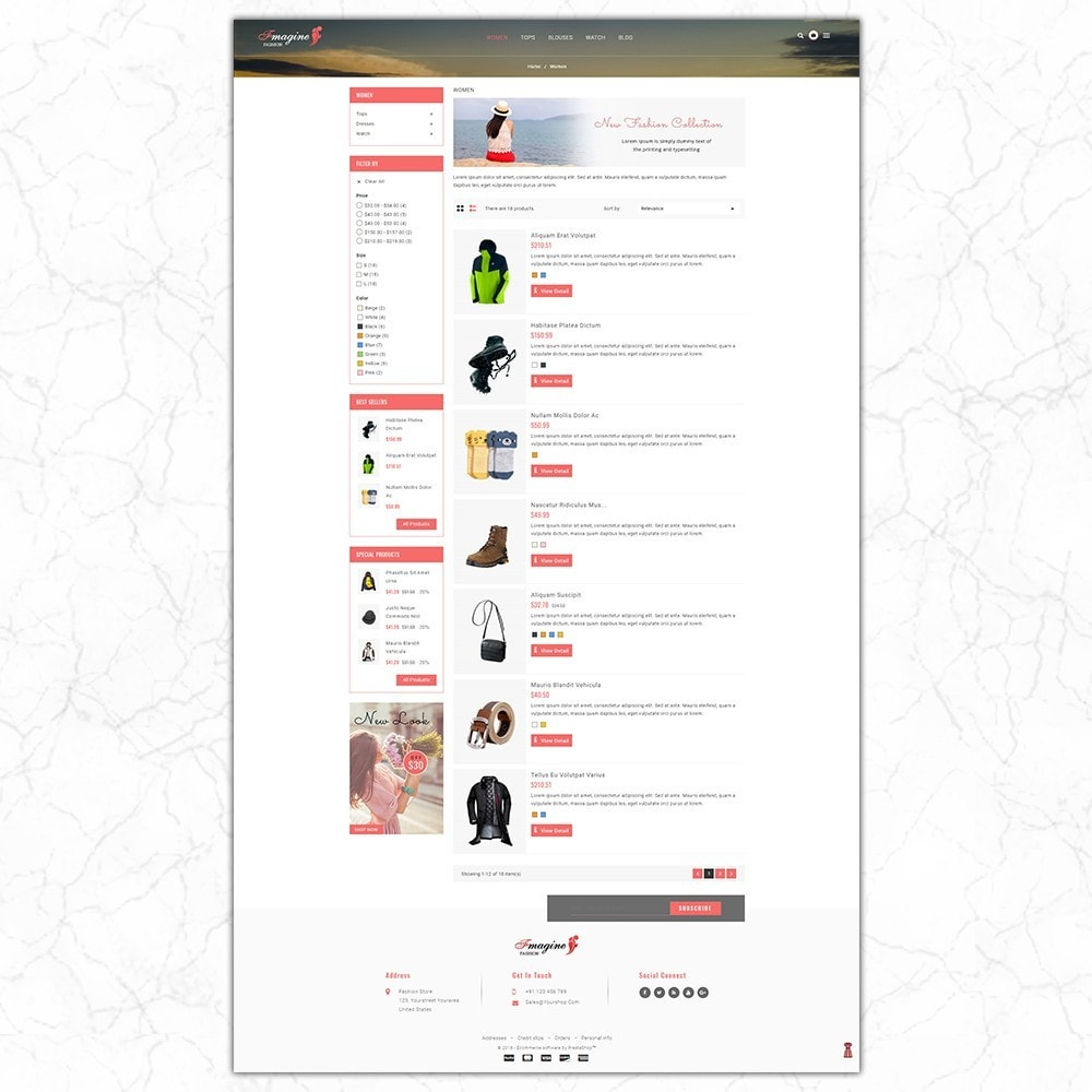 theme - Fashion & Shoes - Fmagine - Fashion Store - 4