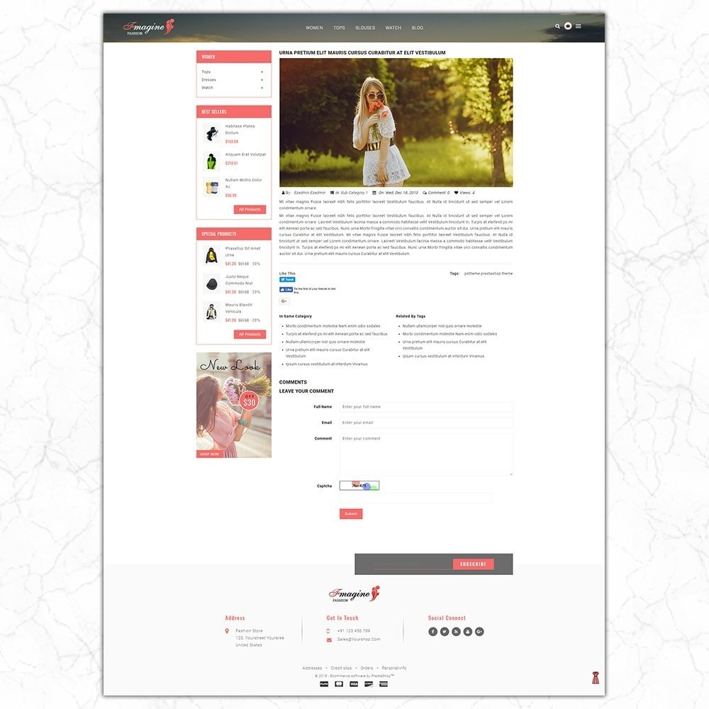 theme - Fashion & Shoes - Fmagine - Fashion Store - 7