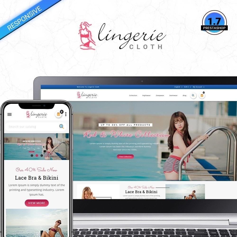 theme - Lingerie & Volwassenen - LingerieCloth - Lingerie Store - 1
