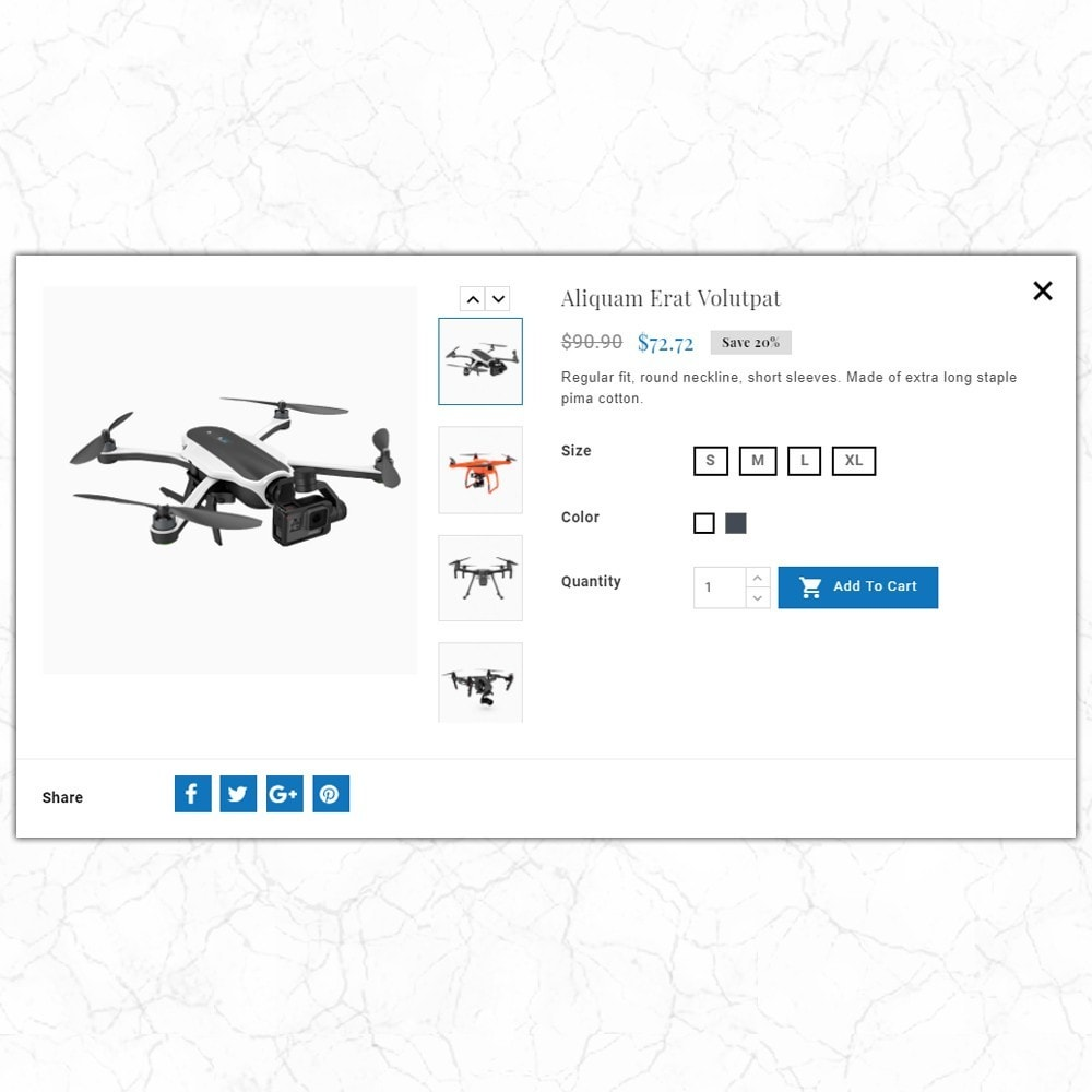 theme - Elektronika & High Tech - Skyclops Drone Store - 6