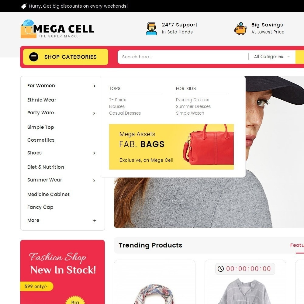 theme - Fashion & Shoes - Mega Cell Fashion Market - 9