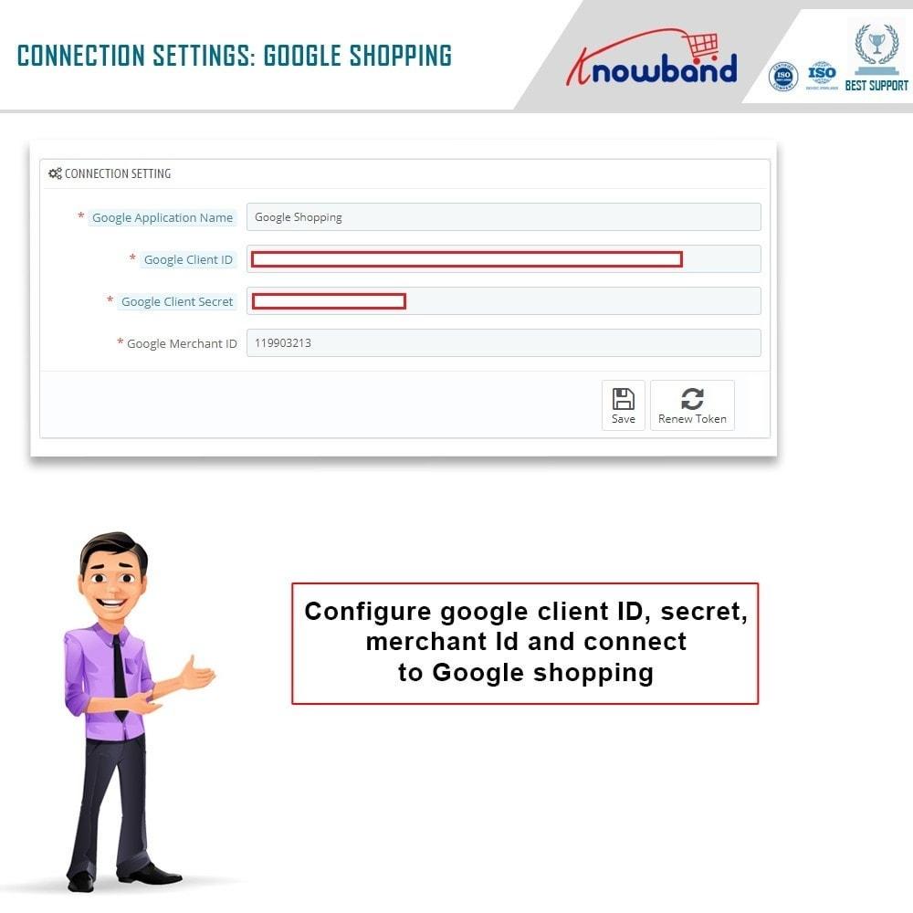module - Comparadores de Precios - Knowband - Google Shopping (Google Merchant Center) - 1