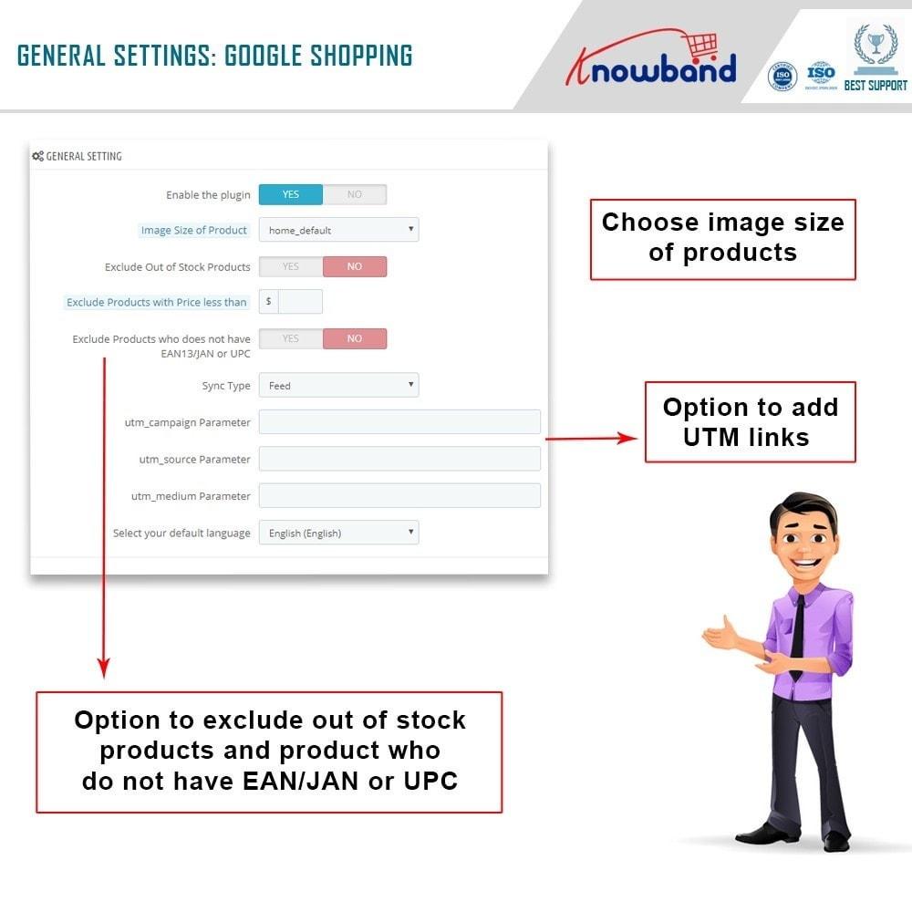 module - Comparateurs de prix - Knowband - Google Shopping - 2