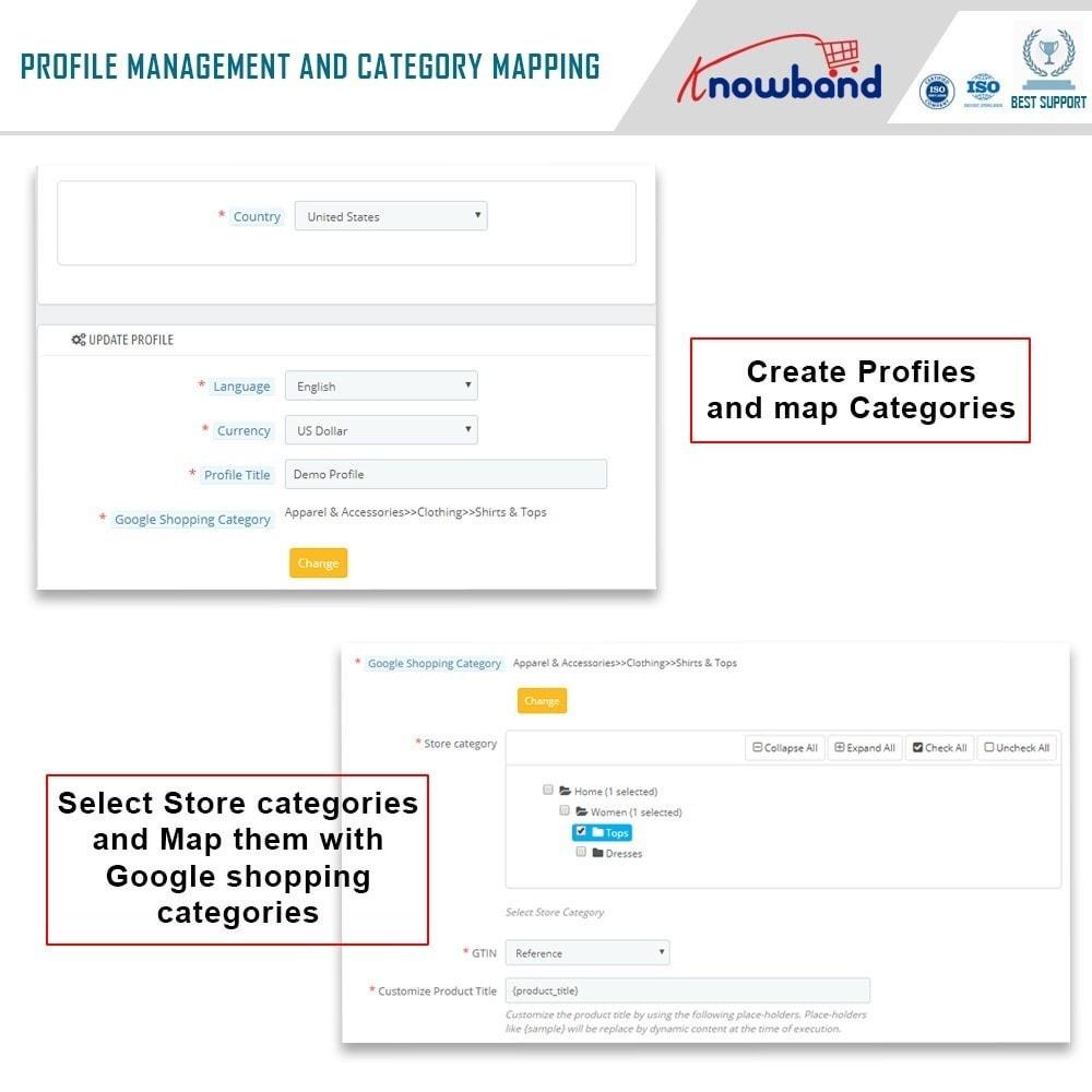 module - Comparateurs de prix - Knowband - Google Shopping - 3