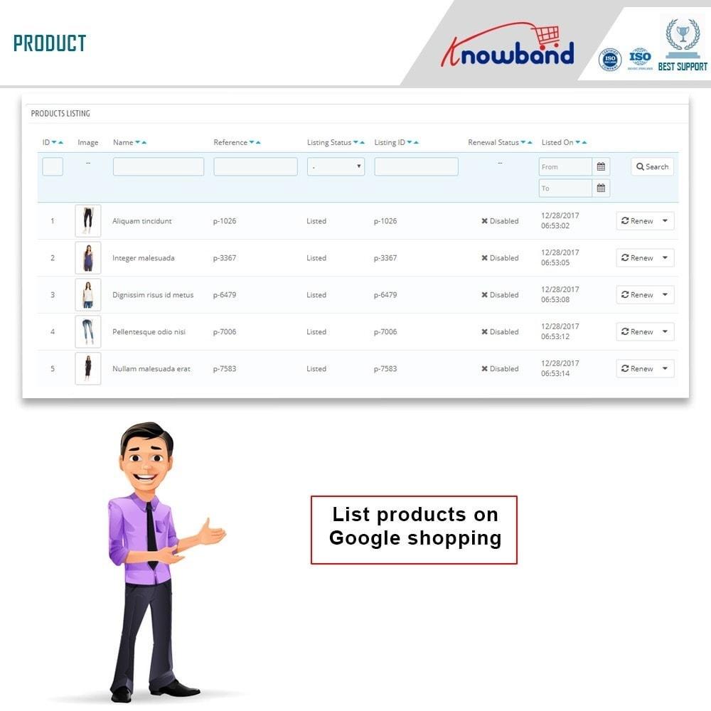 module - Comparateurs de prix - Knowband - Google Shopping - 4