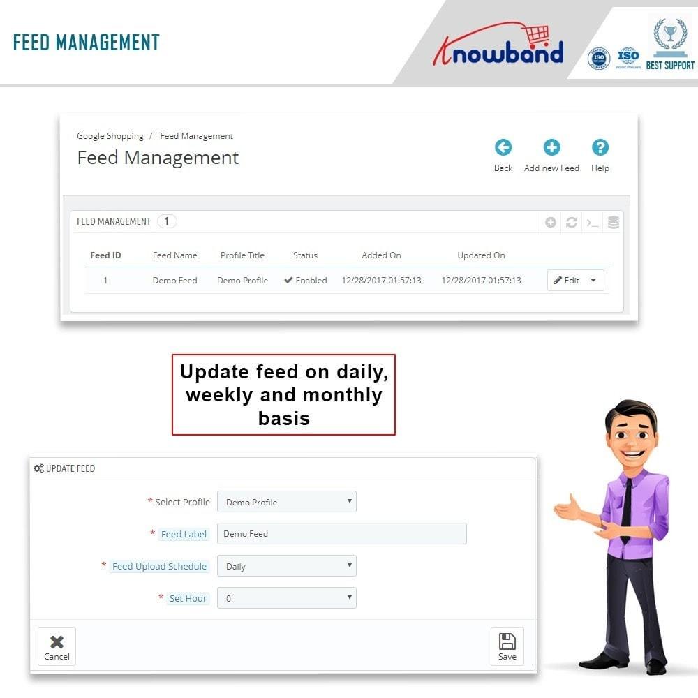 module - Comparadores de Precios - Knowband - Google Shopping (Google Merchant Center) - 5
