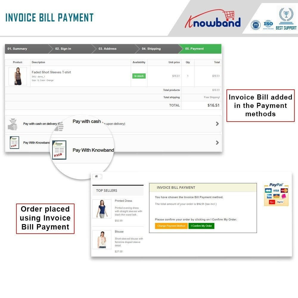 module - Payment by Invoice - Knowband - Invoice Bill Payment - 2