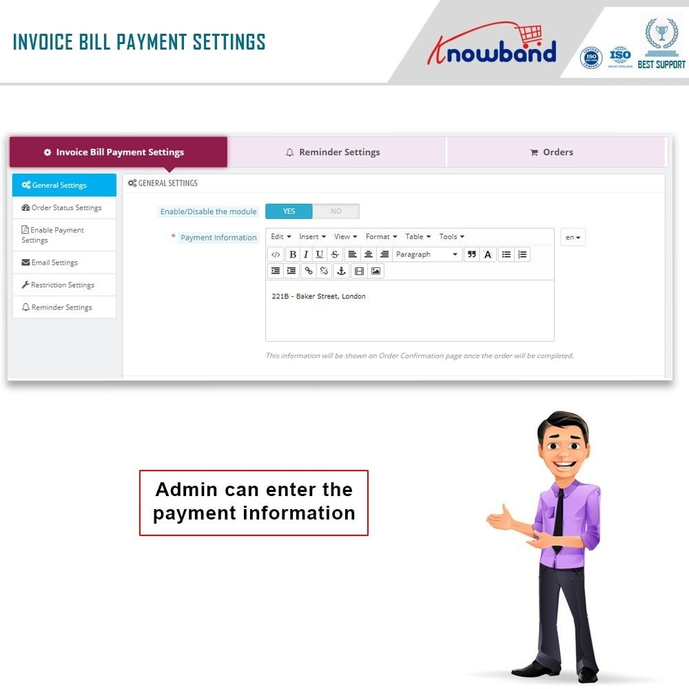 module - Payment by Invoice - Knowband - Invoice Bill Payment - 3