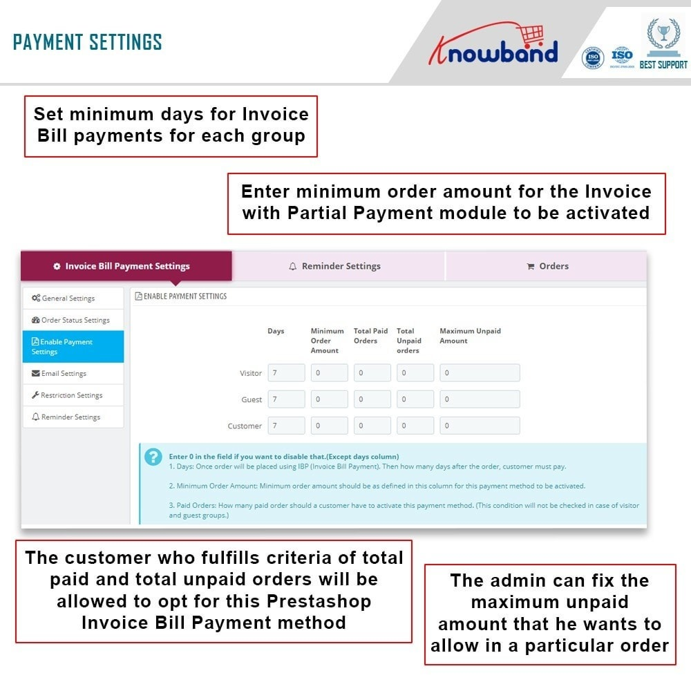 module - Payment by Invoice - Knowband - Invoice Bill Payment - 5