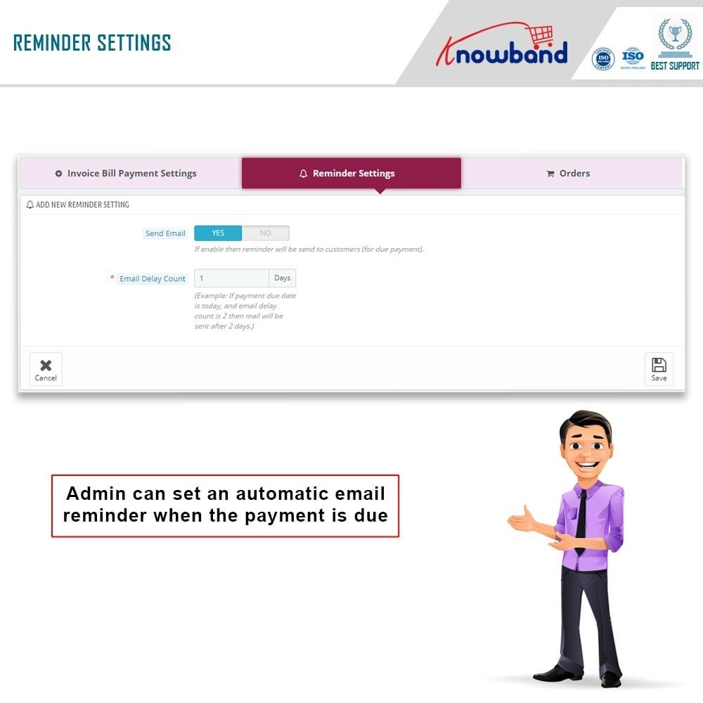 module - Payment by Invoice - Knowband - Invoice Bill Payment - 8