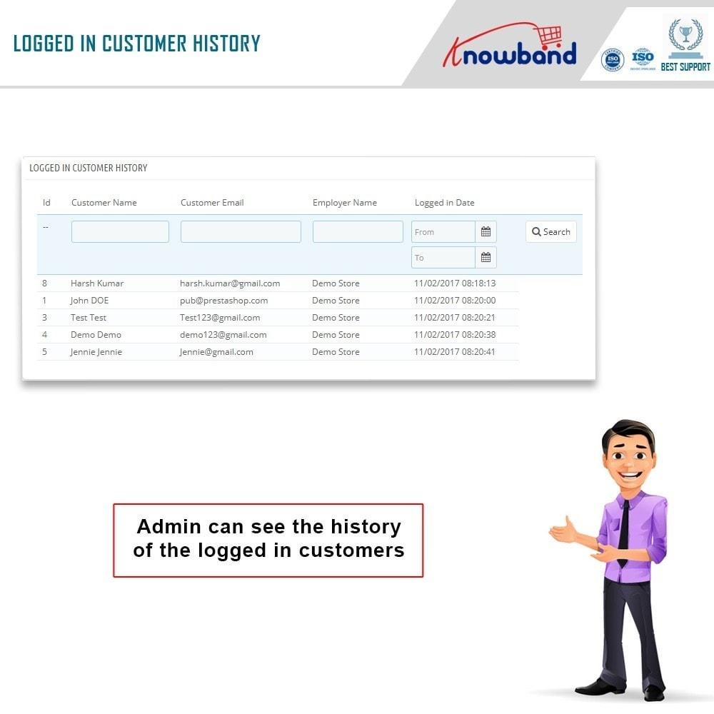 module - Управления учетными записями клиентов - Knowband - Login as a Customer - 4