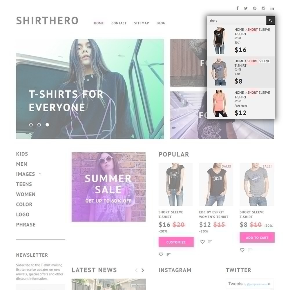 theme - Mode & Schoenen - ShirtHero - T-shirt - 4