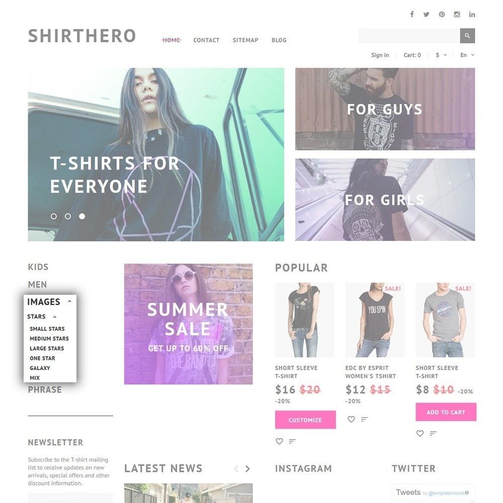 theme - Mode & Schoenen - ShirtHero - T-shirt - 6