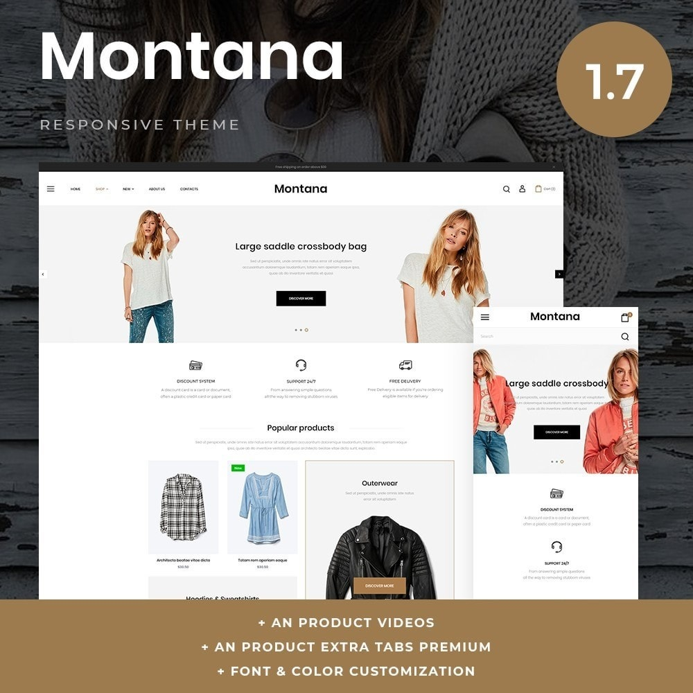 theme - Fashion & Shoes - Montana Fashion Store - 1