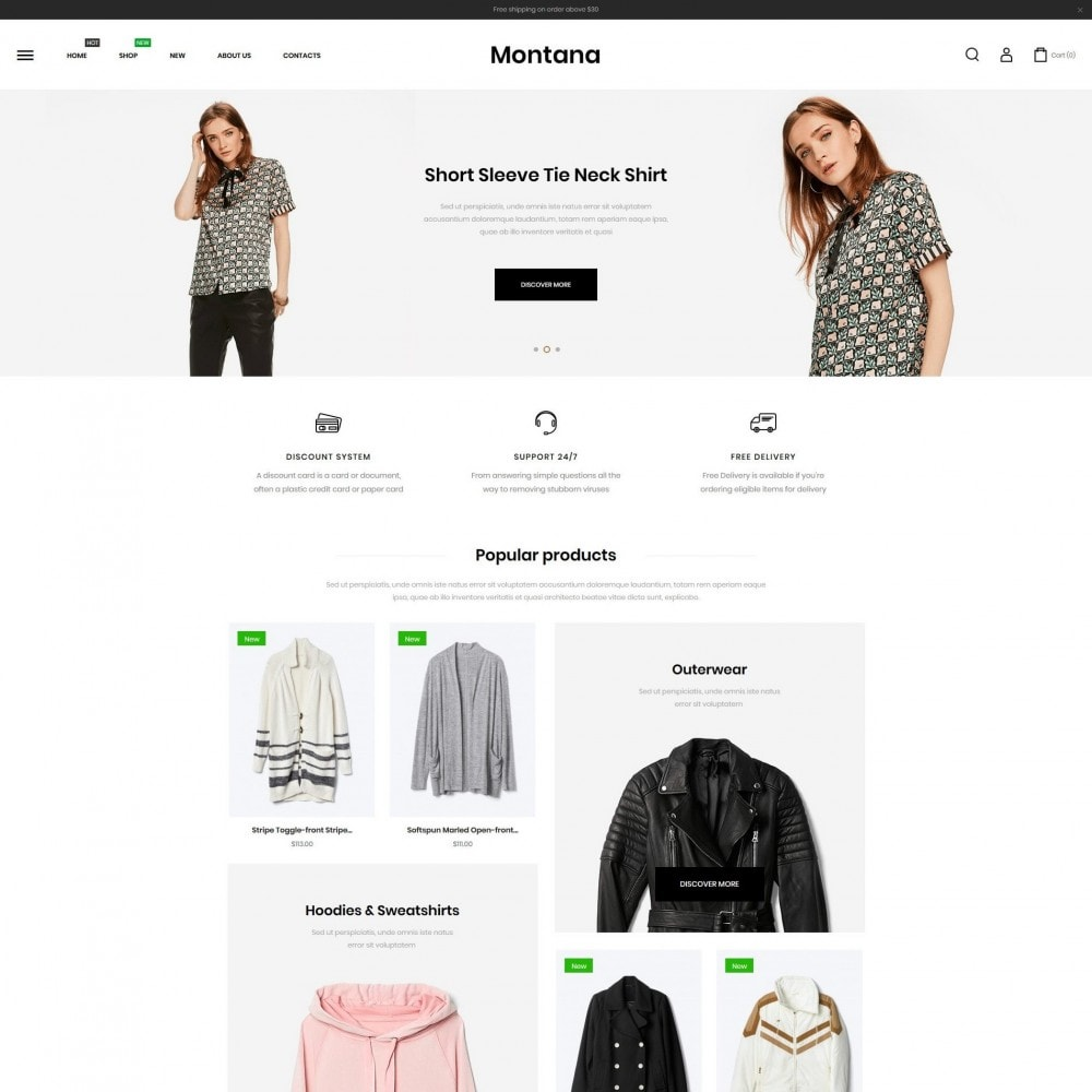 theme - Fashion & Shoes - Montana Fashion Store - 2
