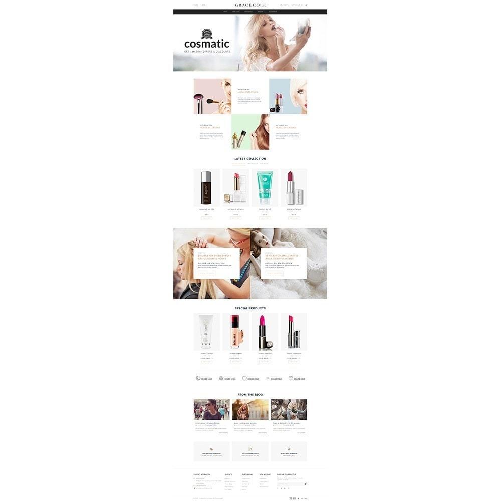 theme - Gezondheid & Schoonheid - Grace Cole Cosmetic Store - 2