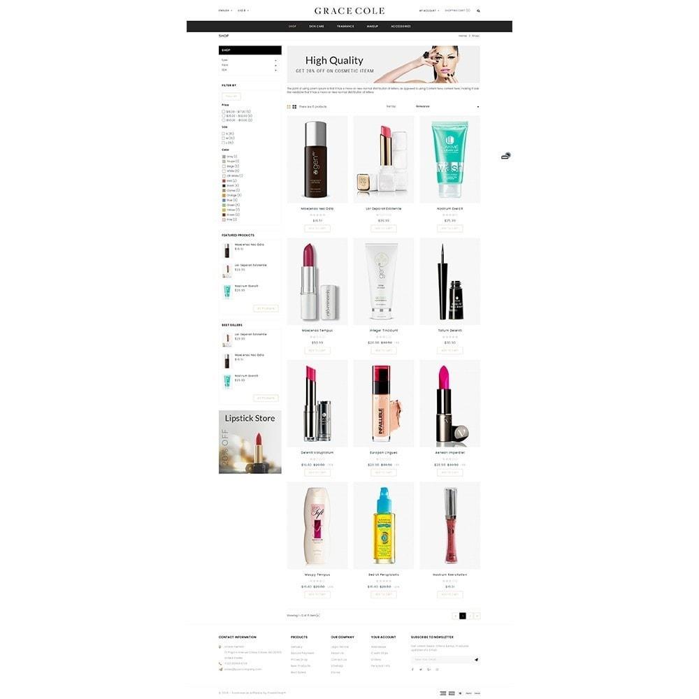 theme - Santé & Beauté - Grace Cole Cosmetic Store - 3