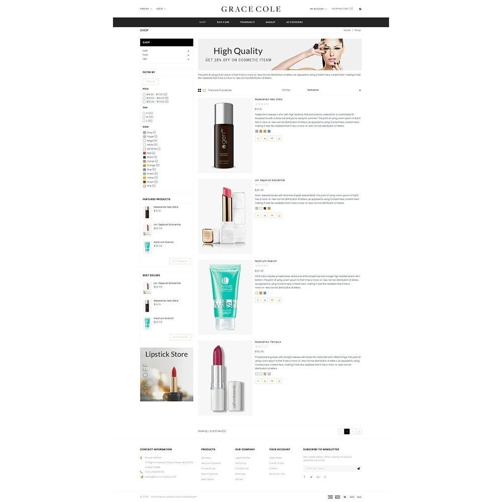 theme - Salute & Bellezza - Grace Cole Cosmetic Store - 4