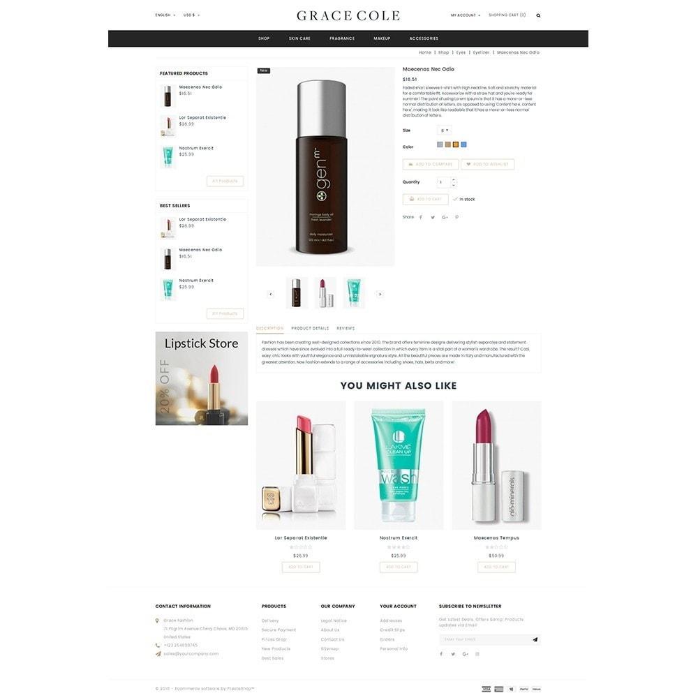 theme - Santé & Beauté - Grace Cole Cosmetic Store - 5