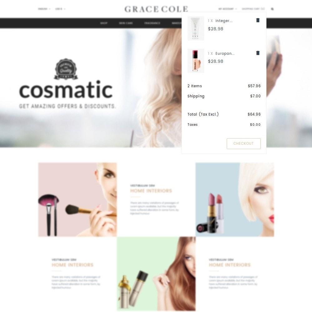 theme - Santé & Beauté - Grace Cole Cosmetic Store - 8