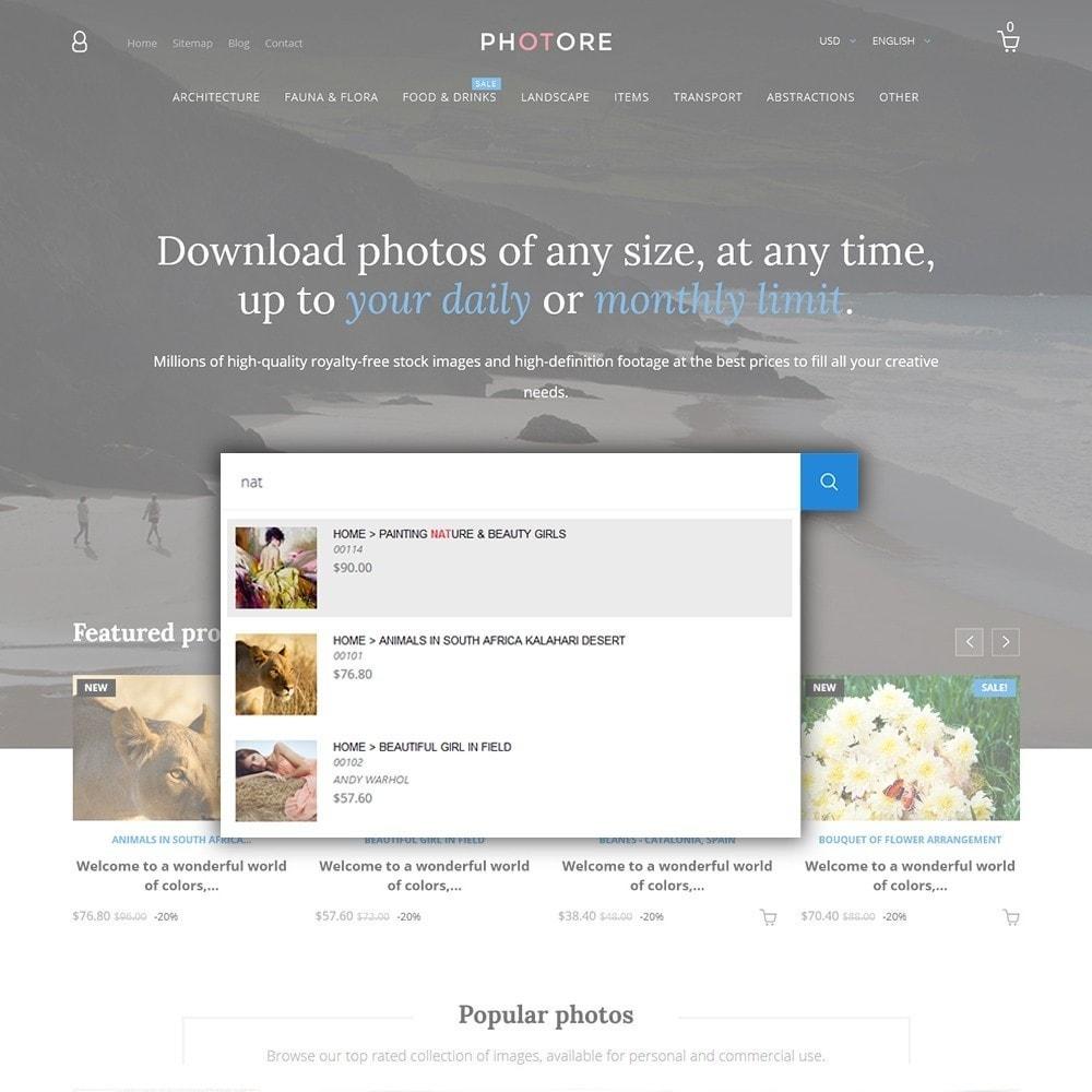 theme - Art & Culture - Photore - Photographer Portfolio - 6