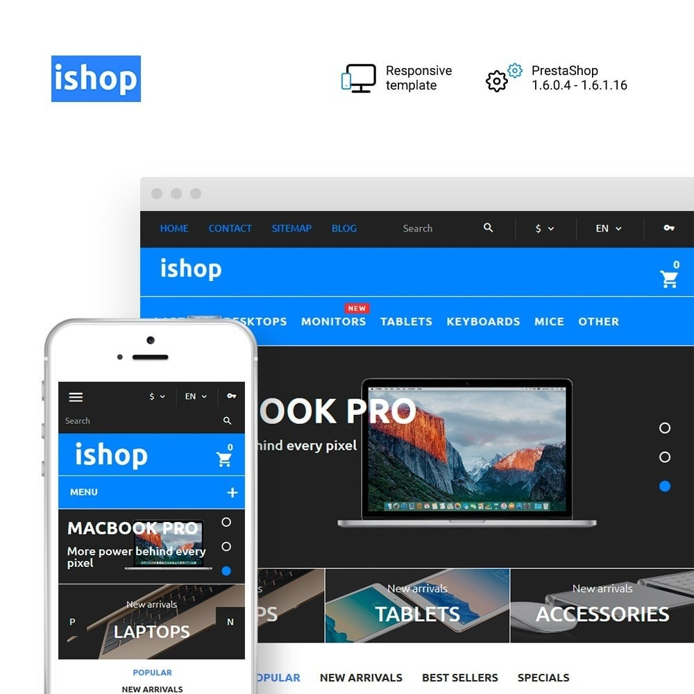theme - Elektronik & High Tech - iShop - Computer Store - 1
