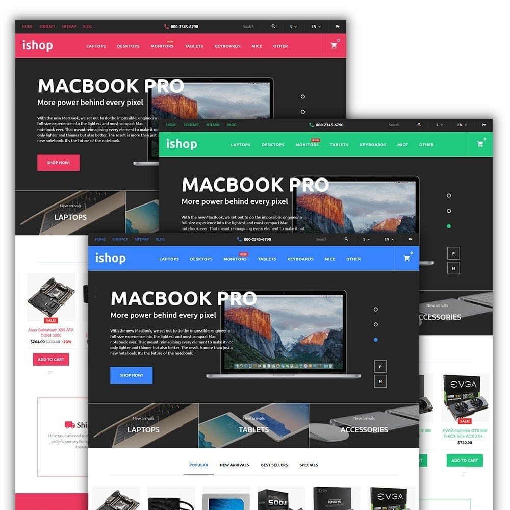 theme - Электроника и компьютеры - iShop - Computer Store - 2