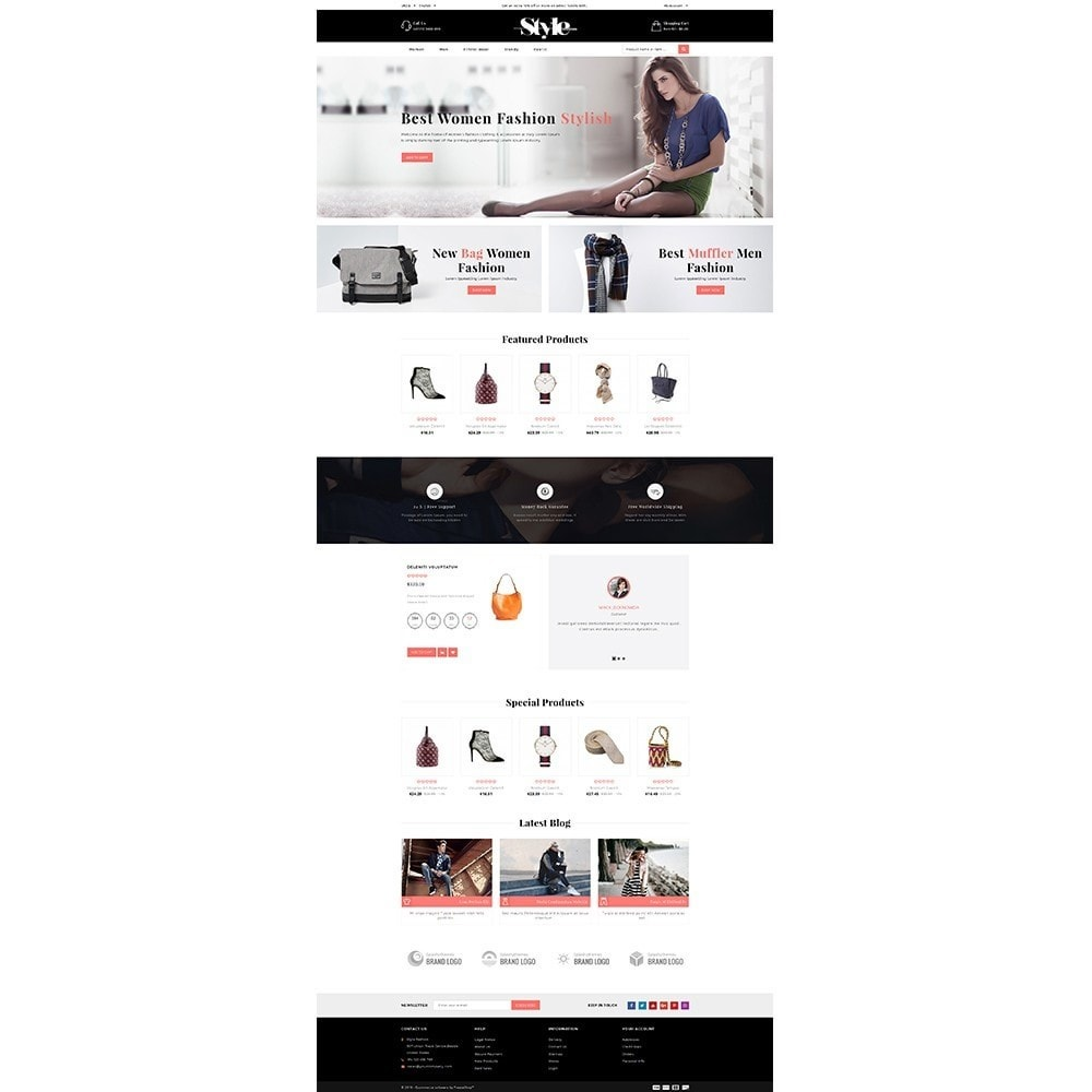 theme - Fashion & Shoes - Style Fashion Store - 2